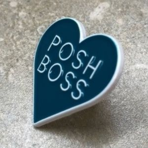 Posh Boss • Swag, Accessory, Lapel Pin, Brand New